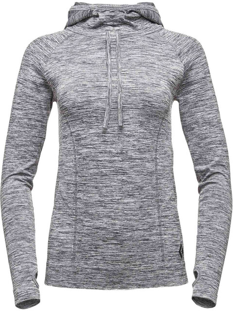 Black Diamond Crux Hoody Women Slate